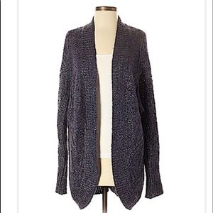 New Forever 21 Open Oversized Cardigan Sweater